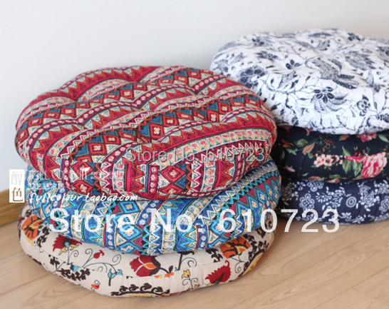 The new national wind restoring ancient ways Cotton and linen cloth art to thicken the futon mat floor MATS fat pad tatami mat