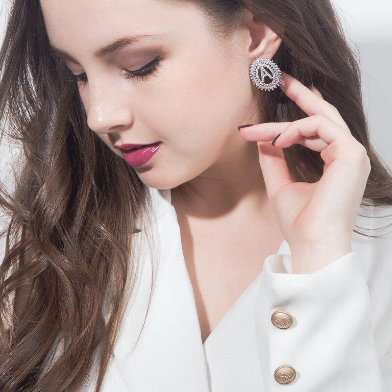 Letter Earrings Jewelry Set15