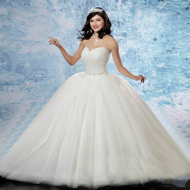 b135e80aa Quinceañera Vestidos de Princesa Larga Durante Años Del Partido Vestidos De 15  Anos dulce 16 vestidos