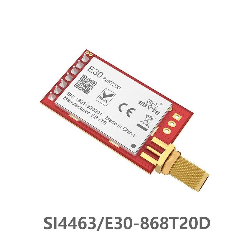 SI4463 868MHz  Ebyte E30-868T20D Transmitter Rf Module Long Range 868MHz UART IOT Serial Port Wireless Rf Module Circuit