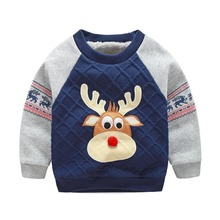 2016 New winter Brand Children cotton thick Sweatshirts baby boys girls cartoon outerwear hoodies coat  warm jacket  2-7 years