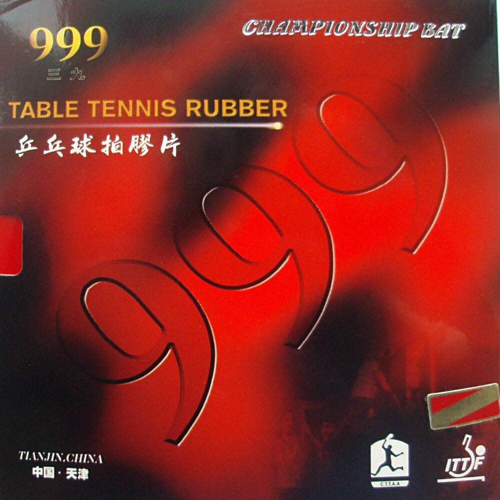 Original 2 stück 999 999 T zacken-im tischtennis pingpong gummi mit schwamm 2,2mm H44-45