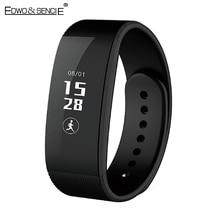 EDWO U3 Умный Браслет Часы Bluetooth 4.0 Чсс Smartband Браслет Здоровья Шагомер Фитнес-Трекер Браслет Для iOS Android
