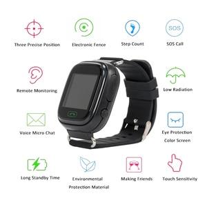 Image 5 - Q90 ساعة أطفال مزودة بنظام GPS ساعة ذكية للأطفال للأطفال ساعة Wmart الطفل على مدار الساعة مع موقع SOS دعوة أداة تتبع PK Q528 Q100