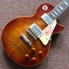 Hot Lp Guitar Custom Shop 1959 R9 Les Tiger Striped Maple Cover Standard Electric Guitar Free