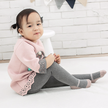 1-6 Year New Autumn and Winter Terry Thickening Childrens Pantyhose Cotton Baby Tights Dance Shoes Girl