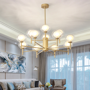 SUNMEIYI 2019 French Empire Gold Crystal Chandelier Grass Chrome Chandeliers Lighting Modern Chandeliers Light+Free shipping