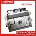 Оригинальный новый двигатель компьютера ECU модуль управления двигателем V4621 = V4632/9810531780 = 9806713880 для Peugeot 301 Citroen Elysee