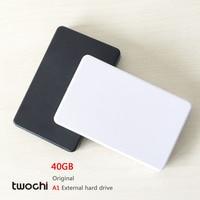 Free Shipping New Styles TWOCHI A1 Original 2 5 External Hard Drive 40GB Portable HDD Storage