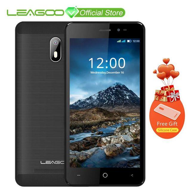 "LEAGOO Z6 3g смартфон 4,97 ""Дисплей Android 6,0 MT6580M 4 ядра 1. 3g Гц 1 ГБ Оперативная память + 8 ГБ Встроенная память 2000 мАч отпечатков пальцев мобильный телефон"