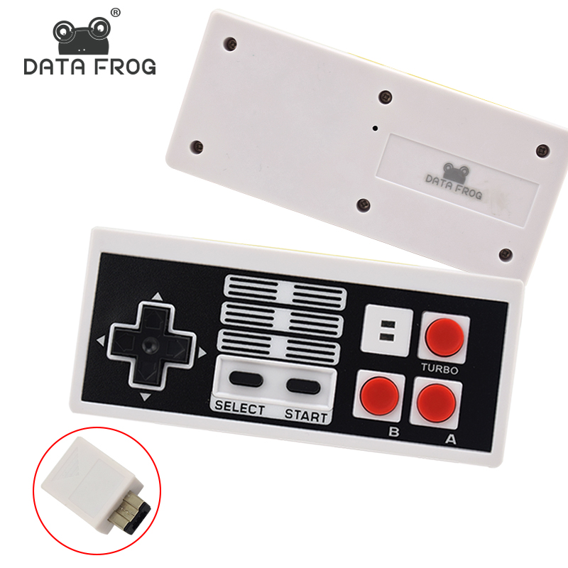 Wireless Gaming Controller For NES Classic Edition Mini Gamepad For Nintendo With Receiver Joystick Console For Wii Game Pad