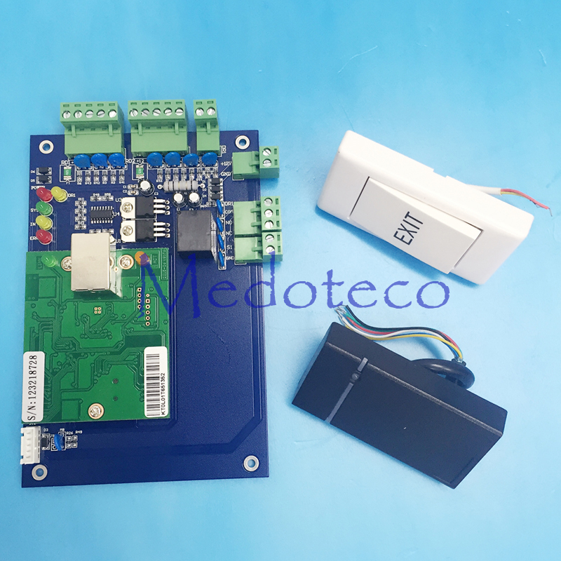 2019 Fashion One Door Access Control Panel Rfid Access Control Board Tcp/ip Single Door Security Access Controller Entry Wiegand Reader Orders Are Welcome. Access Control Kits