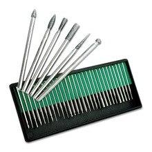 30pcs/lot Nail art tools Electric Nail File Drill machine Bits 3/32″ DRILL BITS KIT pedicure machine electric manicure