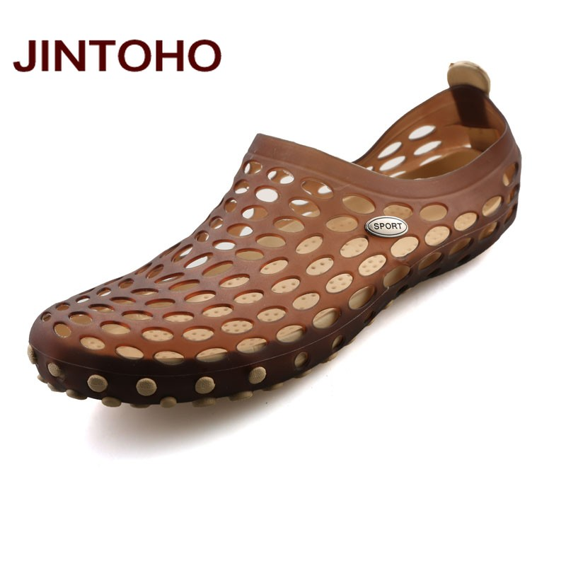635ffa1eca4e6e Dropwow JINTOHO New 2017 Famous Brand Casual Men Sandals Fashion ...