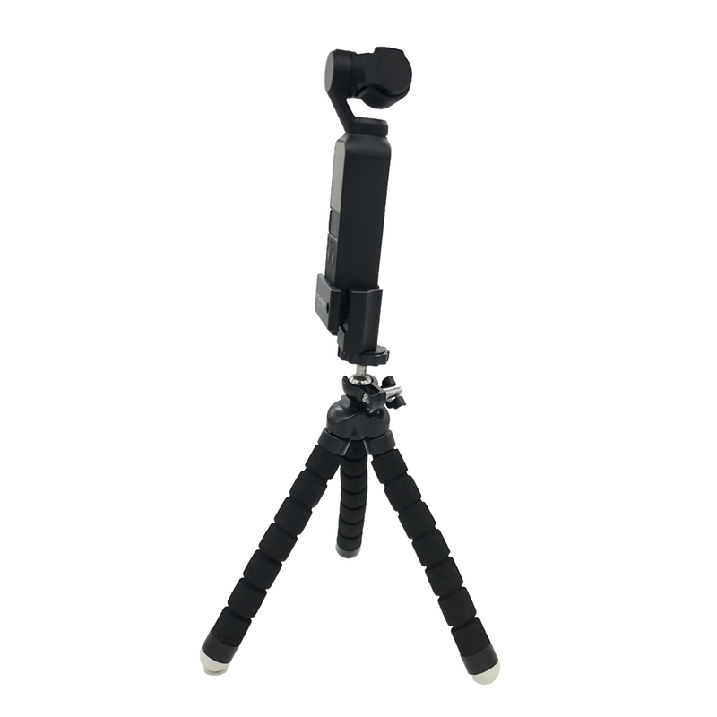 for DJI Osmo Pocket Accessories Tripod Mount Base Adapter Handheld Gimbal Stabilizer