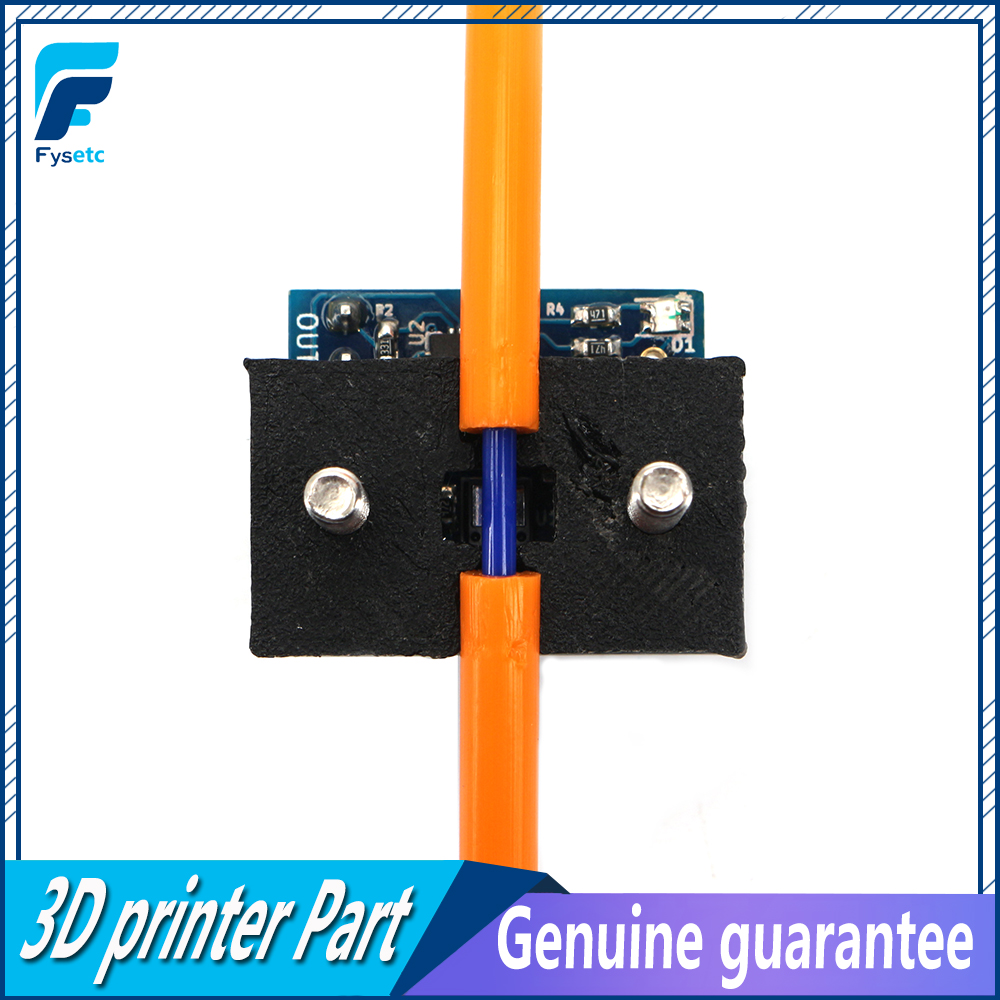 1Set Clone Duet3D 1.75mm Diameter Monitor Sensor Detect Stuck Filament 3D Printer Laser Version Filament Monitor For Duet 2 Wifi