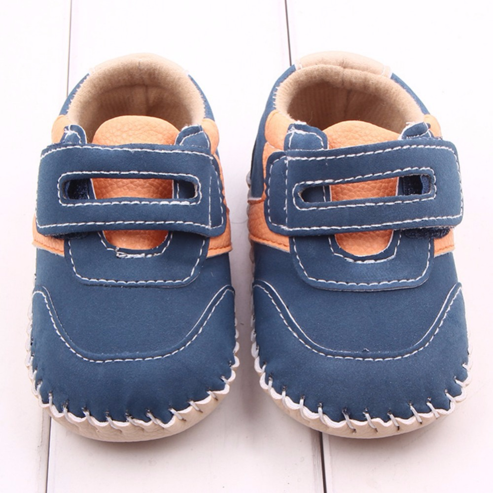 Newborn Shoes Infants Boys Anti-slip Sneakers Toddler Shoes Cute First Walkers Children Footwear For Baby Boy