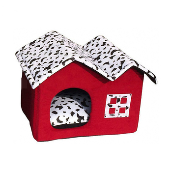 Dog Red Kennel