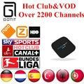 Freesat S805 IPTV 2200 + Canales de Holanda Turco Alemán España Portaguese Albanés Adultos Hot Club y VOD IPTV Android TV caja