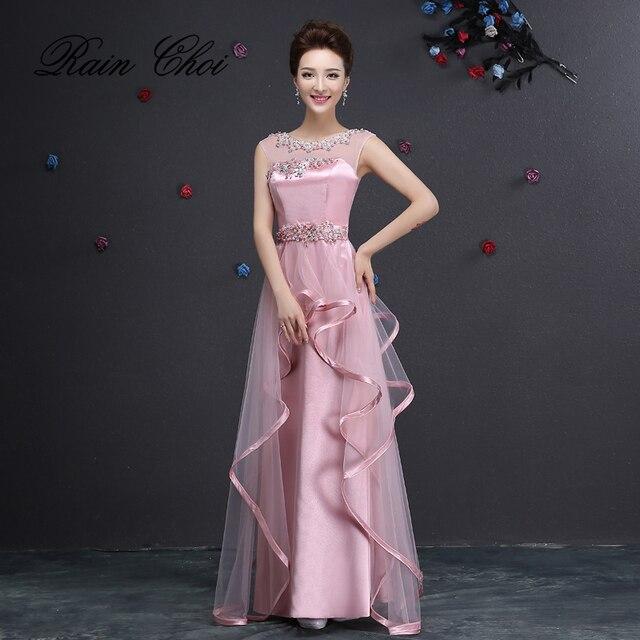 Aliexpress.com : Buy Evening Dresses 2018 Party Gowns O Neck Elegant ...