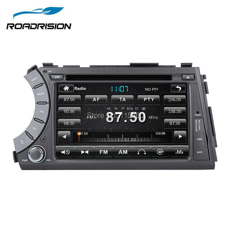 RoadRision автомобильный dvd-плеер с двумя цифровыми входами для ссангйонг Актион, ссангйонг кайрон с gps навигации Bluetooth, IPOD 3g заднего вида RDS Авто Радио стерео