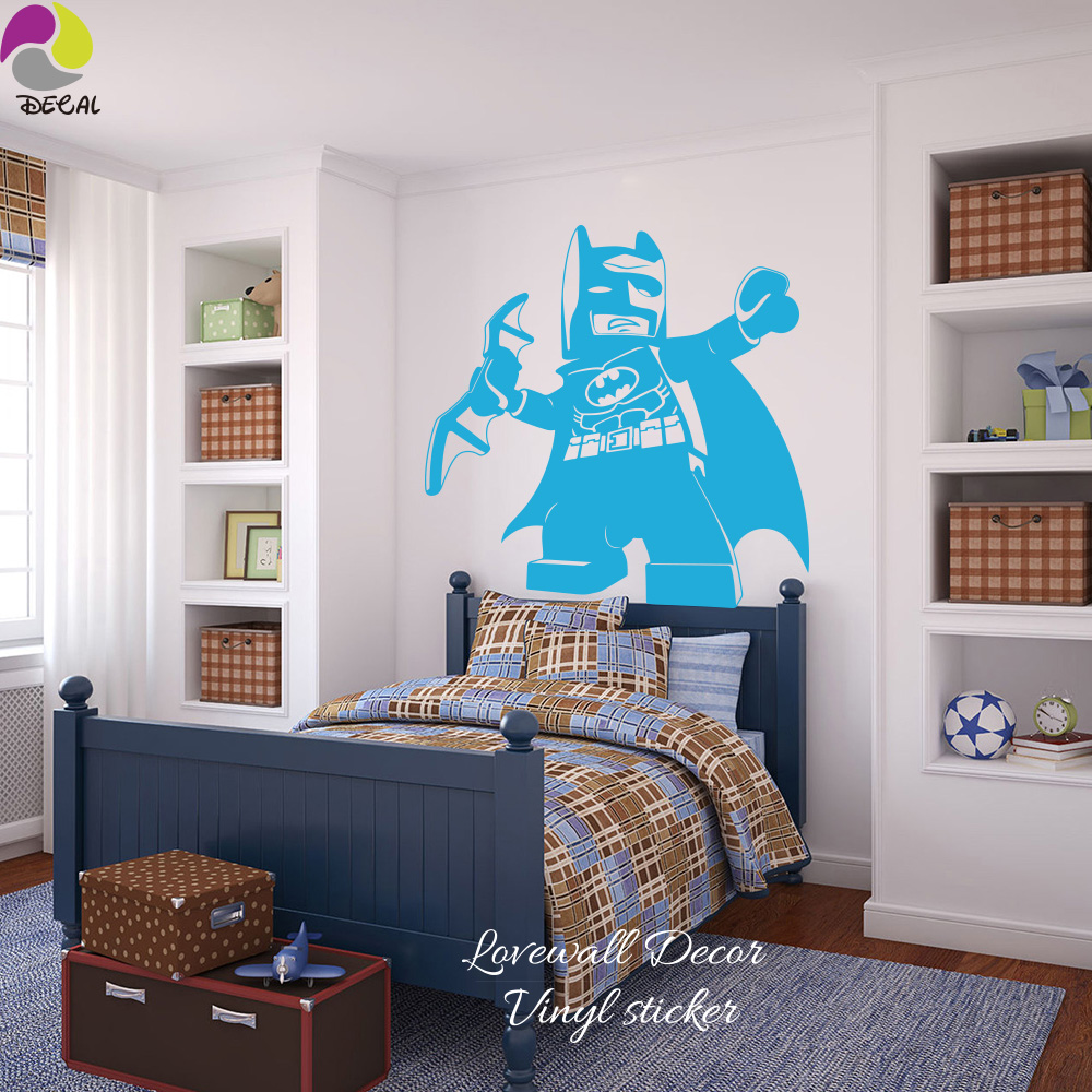 Popular Lego Wall DecalsBuy Cheap Lego Wall Decals Lots From - Lego wall decals vinyl