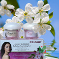 New FEIQUE cherry blossoms refining nourishing facial cream anti freckle cream 20g+20g 12set/lot face care