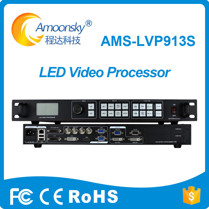 Back To Search Resultsconsumer Electronics Rotating Led Indoor Video Sign Panel Controller Mvp508 Same Vdwall Video Processor Lvp515 2019 Official