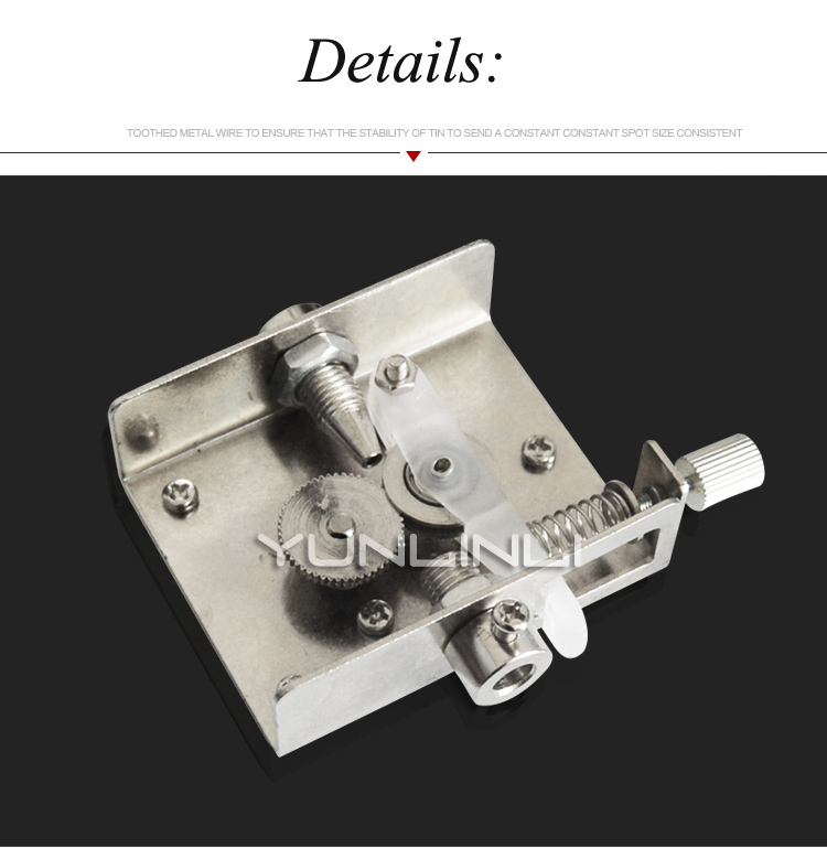 estanho temperatura ajustável alta freqüência tocha soldagem S-3100