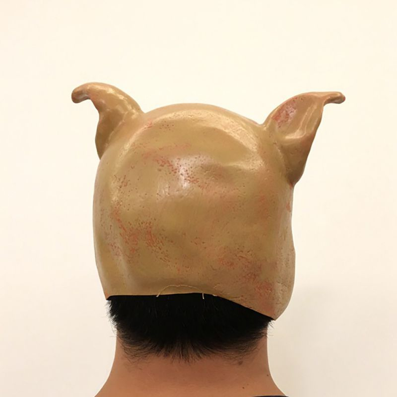 Хэллоуин вечерние Косплэй вечерние личность смешная футболка ужас маска для головы костюм маска для вечеринки