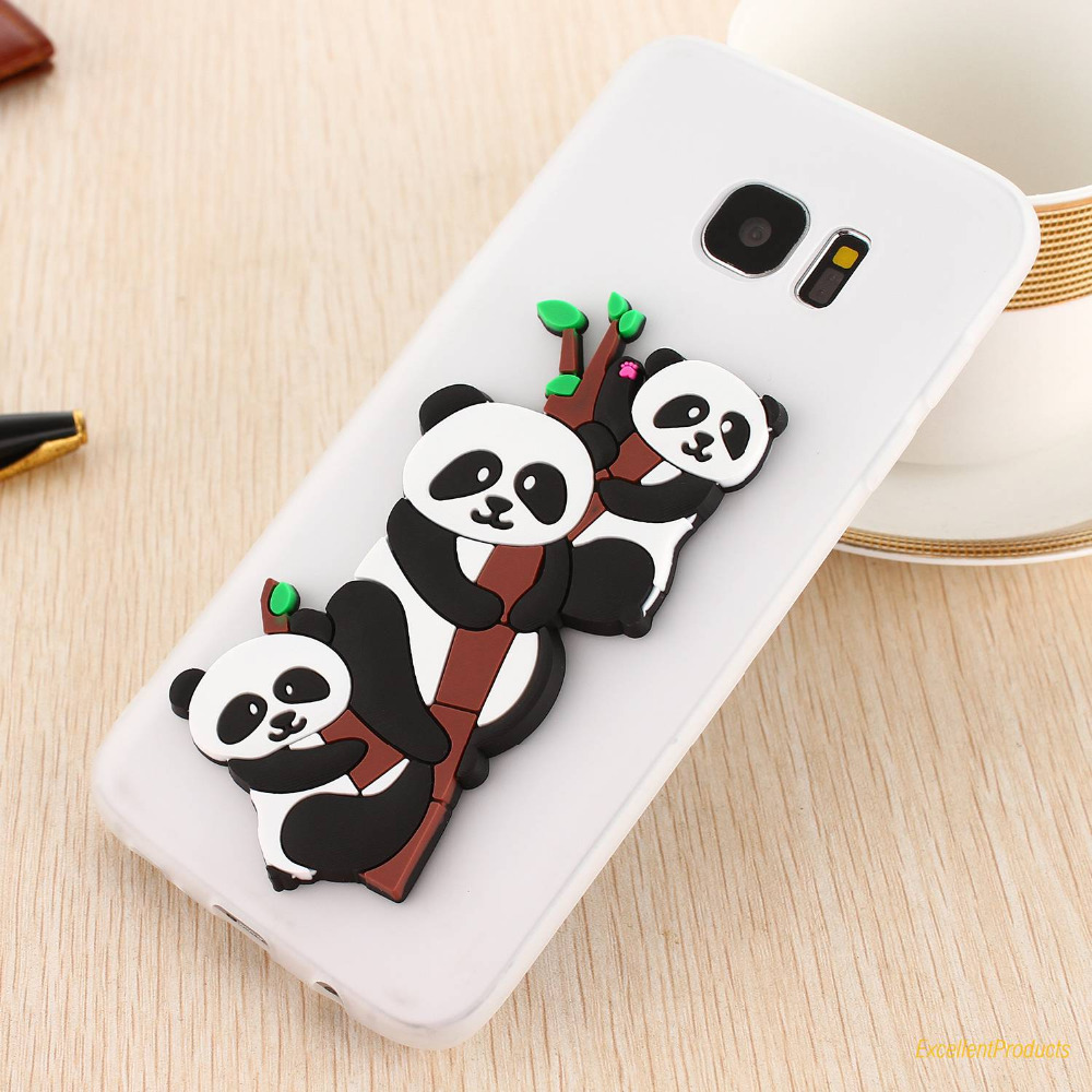 3D Cute Phone Cases For Samsung S7 EDGE Case Soft TPU Silicon Cover Mobile Phone Coque Fundas For Samsung S7 EDGE Case caso etui