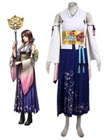 Final Fantasy Yuna Cosplay Costume Jewery full set Tailor Made