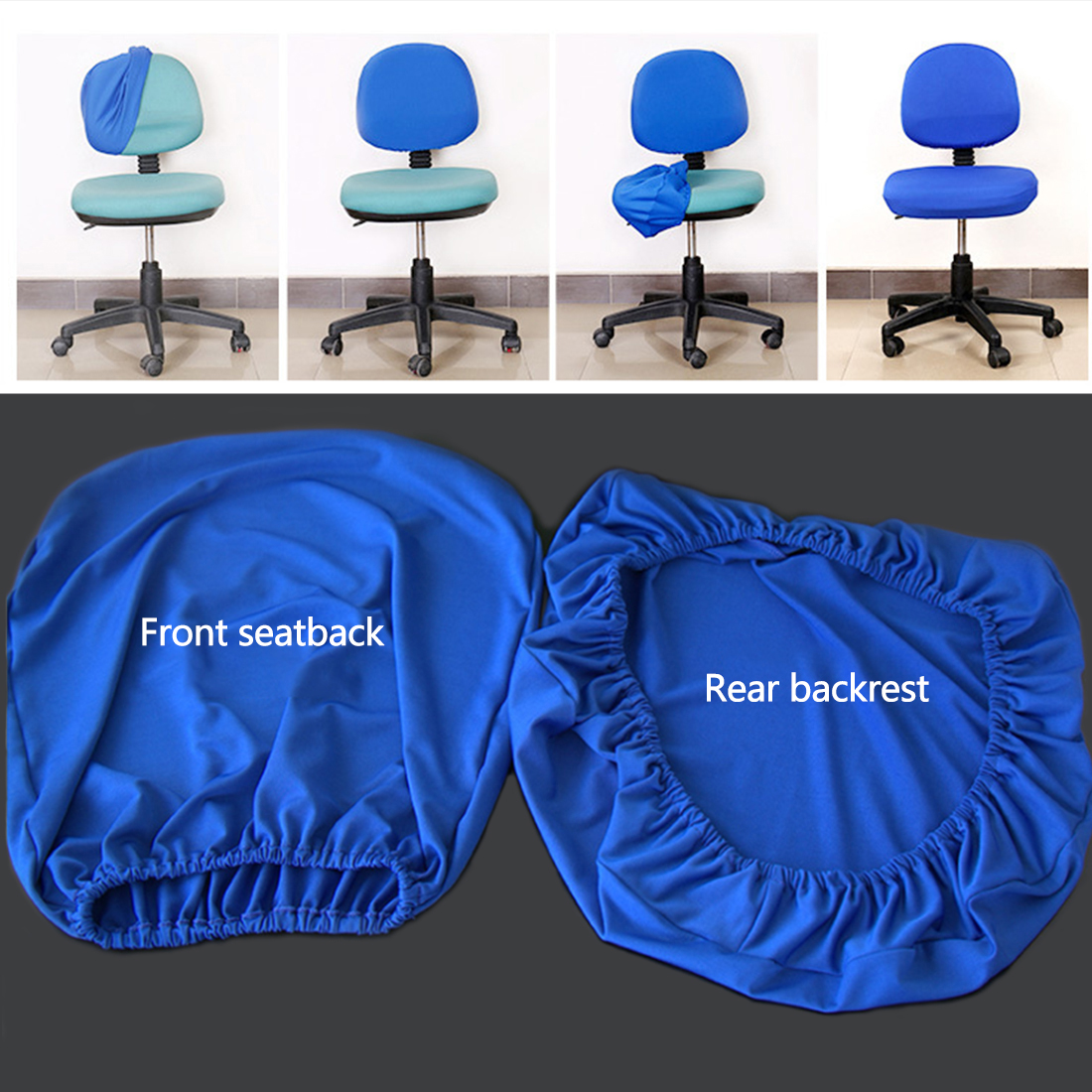 Elastic Chair Covers Made with Polyester Material For Office and Computer Chair in Universal Size 9