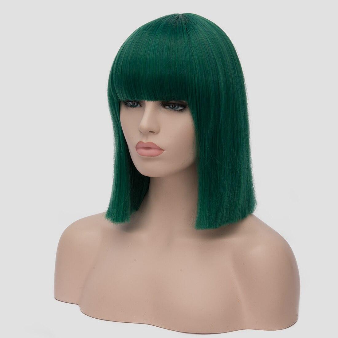 Semler perucas de cabelo curto de fibra