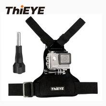 ThiEYE Action Camera Acessó Chest Harness Para Go Pro hero 6 5 4 3 2 Xiaomi Yi ThiEYE Série de Esportes de Ação cam