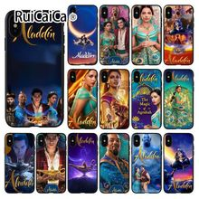 Ruicaica Aladdin movie Black Soft Shell Phone Cover for Apple iPhone 8 7 6 6S Plus X XS MAX 5 5S SE XR Cover aladdin page 7