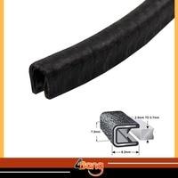 #02 #03 #05 Rubber Edge Trim Seal noise control Protector Guard Strip Car Wheatherstrip Glass Run&Division Bar Seal 1000cm