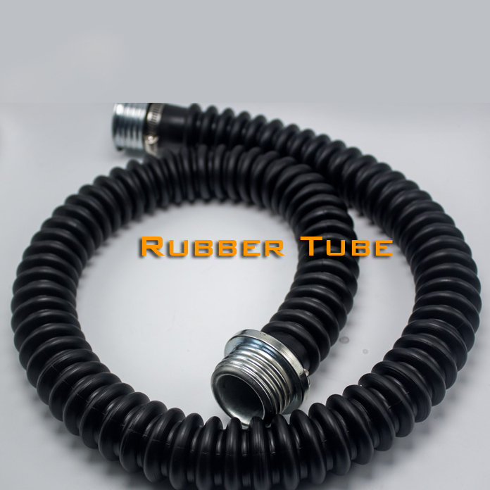 (RD134)Luxury Customize Handmade Latex Rubber Tube For Gas Mask The Pipe For The Breath Bottle