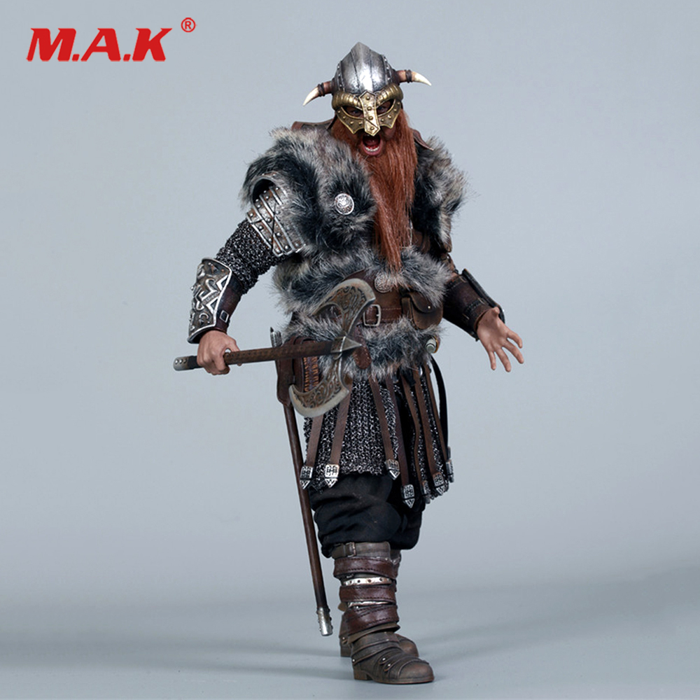 Collectible 1/6 Scale NO.SE017 1/6 VIKING VANQUISHER(Die-cast Alloy) BERSERKERAction Figure Doll Toys Gift