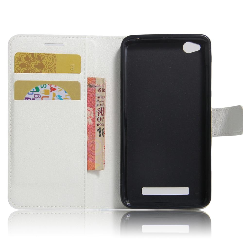Xiaomi redmi 4A Funda de 5.0 pulgadas Funda de cuero de lujo de la PU - Accesorios y repuestos para celulares - foto 3