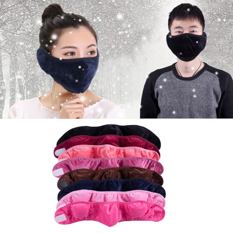 New 2 in 1 autumn and winter fashion warm riding wind thickening with protect the ears masks