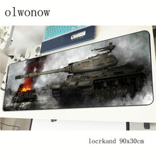 World of Tanks mousepad 900x300x2mm thick gaming mouse pad gamer mat locked edge game computer desk