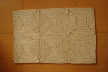 90x60cm Handmade Stitch Corn Bran Mat Carpet Straw Door Area Rug Room Floor Mats