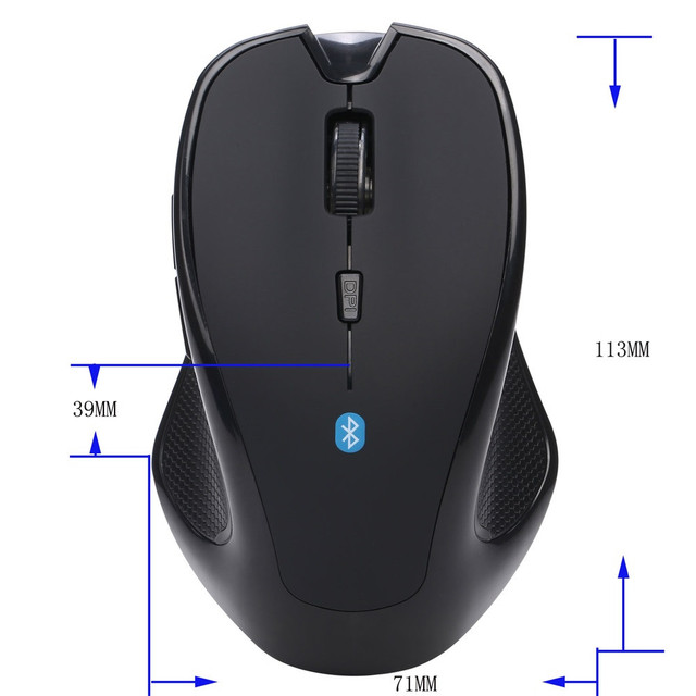 9fd549171f7 Mouse Raton Wireless USB Mini Bluetooth 3.0 6D Optical Gaming ...