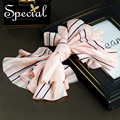 Special New Fashion Stripe Hair Pins & Clips Bowknot Hair Accessories Sweet Hair Wear Jewelry Gifts for Women S1645H