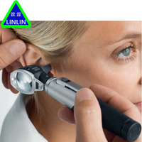 LINLIN New Pattern Professional Diagnositc Kit Medical Ear Care LED Otoscope High Grade Ear Detection Instrument