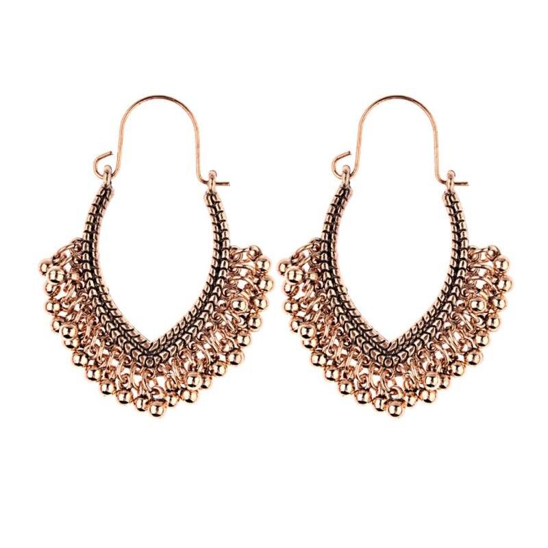 1 Paar Bohemen Oorbellen Boho Stijl Vintage Etnische Fashion Kralen Hanger Kwastje Dangle Vrouwen Geschenken Decoratie Producten Hot Sale