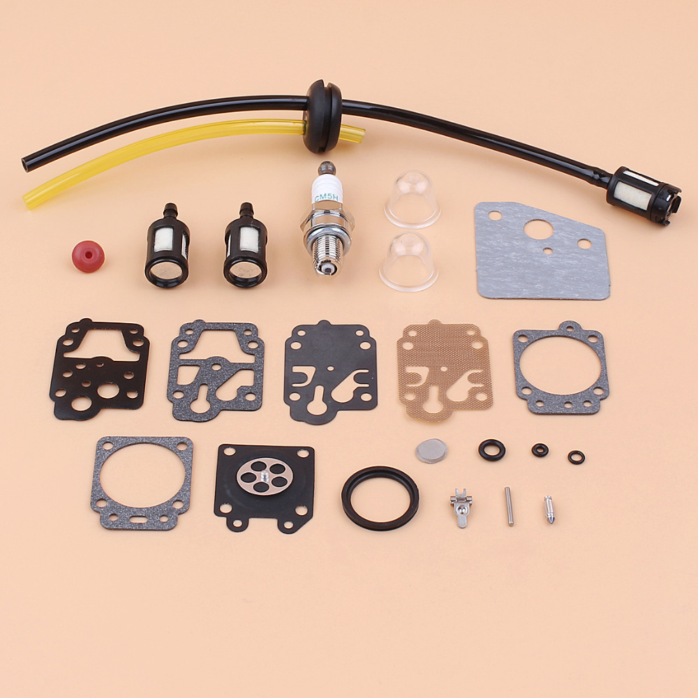 Carburetor Diaphragm Fuel Hose Filter Gasket Kit For Honda GX25 GX25N NT FG110 HHT25S Engine Motor Mower Generator Water Pumps