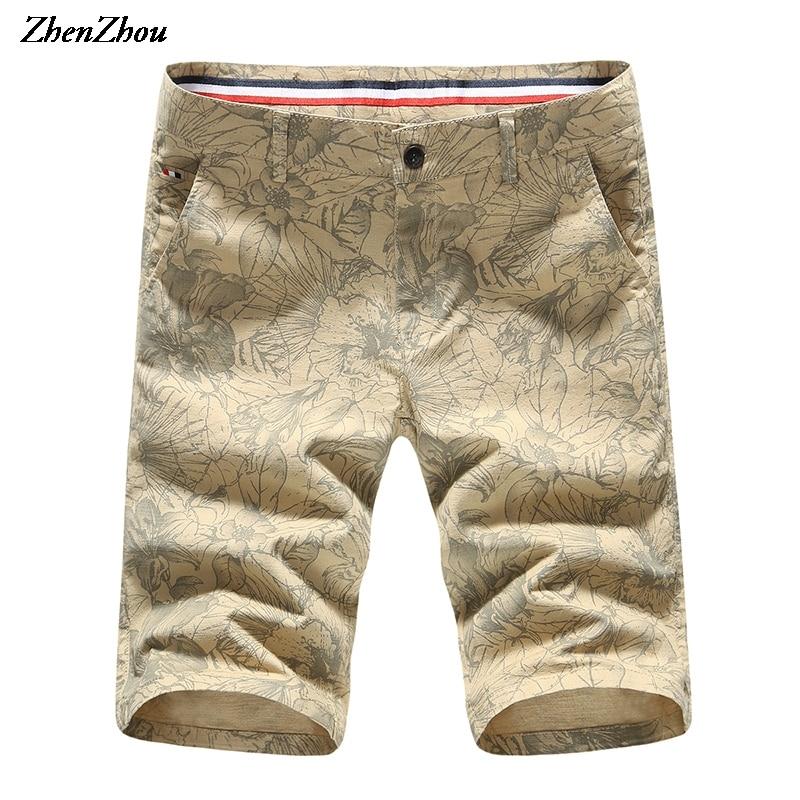 4 boje 29-40 2018 ljetne kratke hlače Muškarci posteljina kratke - Muška odjeća
