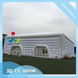 25X24X8 M Открытый четыре двери большой дисплей палатки надувная палатка шатер смешать с двумя мастерство